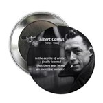 "Albert Camus Motivational 2.25"" Button (10 pack)"