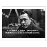 Albert Camus Motivational Small Poster