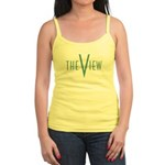 The View Teal Logo Jr. Spaghetti Tank