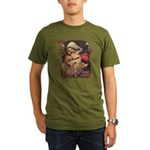 """Gift of Love"" Organic Men's T-Shirt (dark)"