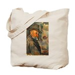 Cezanne Emotion Artistic Quote Tote Bag