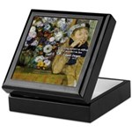 Degas Difficulty of Painting Keepsake Box