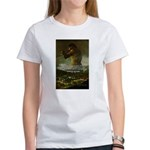 Goya Colossus Fantasy Quote Women's T-Shirt