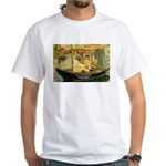 French Painter Manet Quote White T-Shirt