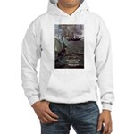 Manet Painting Color Quote Hooded Sweatshirt