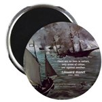 "Manet Painting Color Quote 2.25"" Magnet (10 pack)"