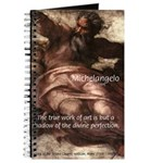 Michelangelo Perfection Quote Journal