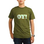 Christmas Oy! Organic Men's T-Shirt (dark)
