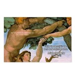 Sistine Chapel Adam & Eve Postcards (Package of 8)