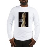 Michelangelo Angel in Sculpture Long Sleeve T-Shir