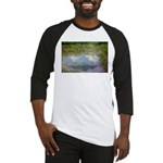 Monet Painting: Beauty Quote Baseball Jersey