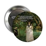 "Berthe Morisot Art Quote 2.25"" Button (100 pack)"