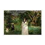 Berthe Morisot Art Quote Mini Poster Print
