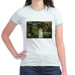 Berthe Morisot Art Quote Jr. Ringer T-Shirt