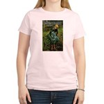Pissarro Art of Impressions Women's Pink T-Shirt