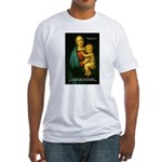 Raphael Madonna Painting Fitted T-Shirt