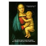 Raphael Madonna Painting Large Poster