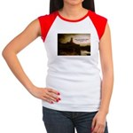 Rembrandt Painting & Quote Women's Cap Sleeve T-Sh
