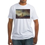 Rembrandt: on God & Painting Fitted T-Shirt
