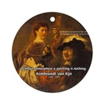 Art & Atmosphere Rembrandt Ornament (Round)