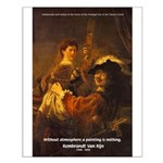 Art & Atmosphere Rembrandt Small Poster