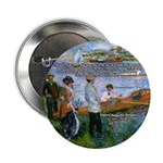 "Renoir Painting: Art & Beauty 2.25"" Button (100 pa"