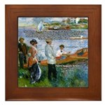 Renoir Painting: Art & Beauty Framed Tile