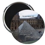 "Renoir The Louvre & Nature 2.25"" Magnet (10 pack)"