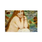 Renoir Impressionist Nude Rectangle Magnet (10 pac