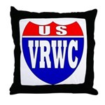 VRWC Interstate Throw Pillow