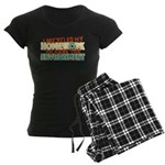 Recycled Homework Women's Dark Pajamas