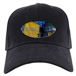 Vincent Van Gogh Color Art Black Cap