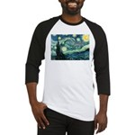 Starry Night Vincent Van Gogh Baseball Jersey