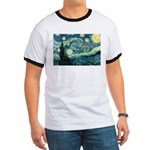Starry Night Vincent Van Gogh Ringer T