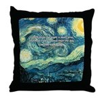 Starry Night Vincent Van Gogh Throw Pillow