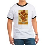 Van Gogh Painting & Quote Ringer T