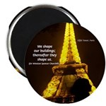 "Art Architecture Eiffel Tower 2.25"" Magnet (10 pac"