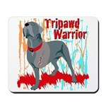 Tripawd Warrior Mpusepads Mugs Cards and Gifts