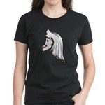The Forlorn Nurse Women's Black T-shirt