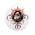 "Pray the Rosary 3.5"" Button"