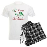 Merry Christmas Men's Light Pajamas
