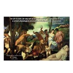 Intoxication Nietzsche Art Postcards (Package of 8