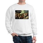 Intoxication Nietzsche Art Sweatshirt