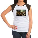 Intoxication Nietzsche Art Women's Cap Sleeve T-Sh