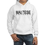 Maltese Agility Hooded Sweatshirt