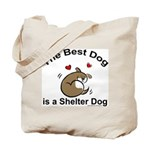Best Shelter Dog Tote Bag
