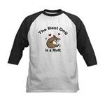 Best Mutt Dog Kids Baseball Jersey