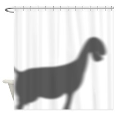 Nubian Goat Shower Curtain
