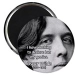 Playwright Oscar Wilde Magnet
