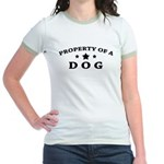 Property of Dog Jr. Ringer T-Shirt